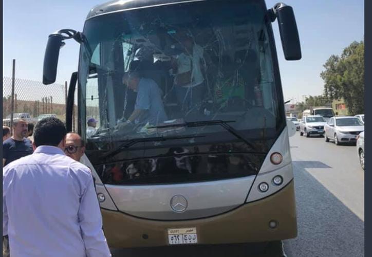 La mayoría de los lesionados son turistas extranjeros, señalaron medios locales. (Twitter @eha_news)