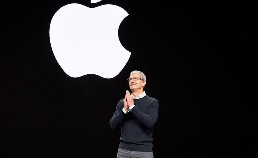 Tim Cook da inicio al evento de marzo de 2019 de Apple. (Foto: Apple)
