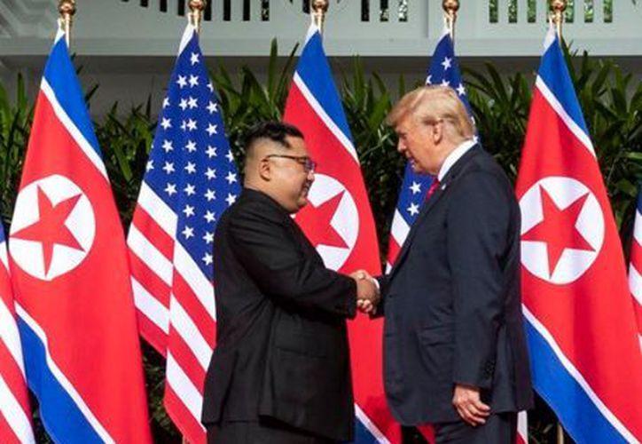 Los dos líderes aceptaron con mucho gusto las respectivas invitaciones. (Twitter)