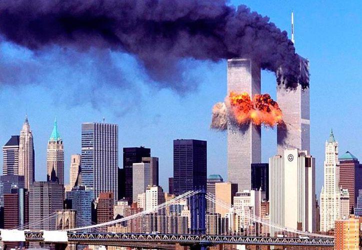 Los atentados de Al Qaeda en EU dejó dos mil 973 personas muertas. (Archivo/Agencias)