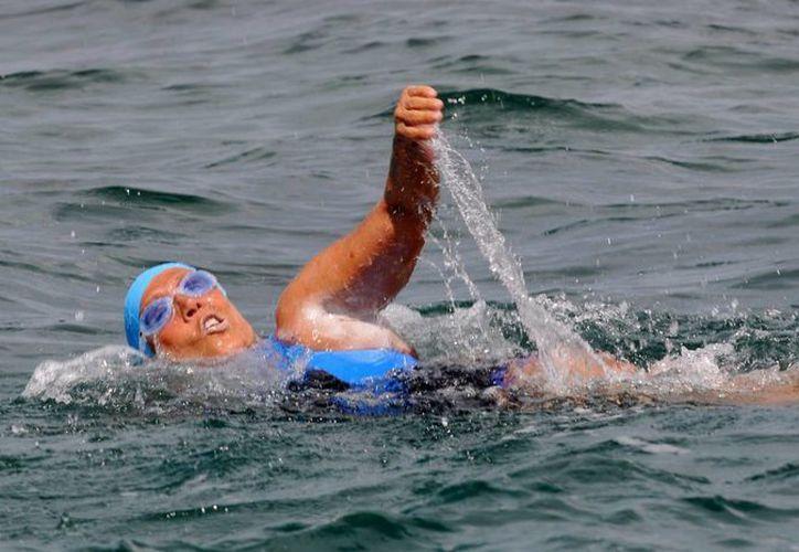 La nadadora estadounidense Diana Nyad. (EFE/Archivo)