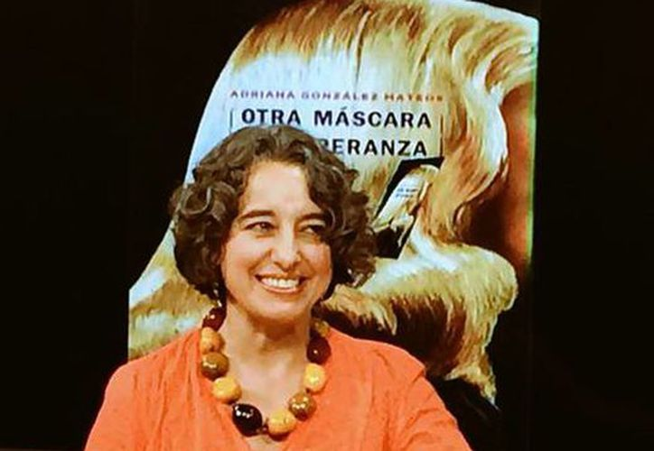 Adriana González Mateos es doctora en Literatura Comparada por la Universidad de Nueva York. (Milenio)