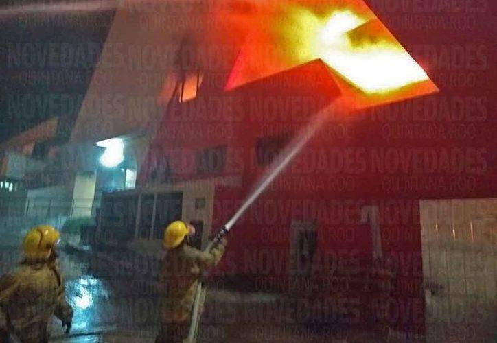 El pasado viernes se registró el incendio en el centro de hospedaje. (Pedro Olive/SIPSE)