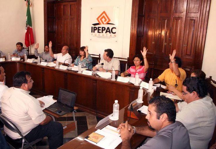 El consejo del Ipepac acordó el nombramiento de asistentes y auxiliares. (Juan Albornoz/SIPSE)
