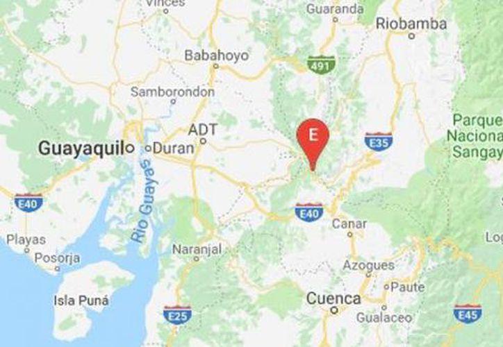 El Instituto Geofísico  señaló que se sintió en la Sierra centro del Ecuador. (elcomercio.com)
