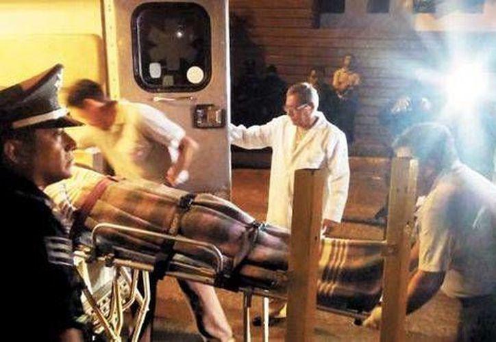 Kim Fritz Fran Káiser, estudiante alemán del ITM, de 25 años de edad, resultó herido de un balazo proveniente de la policía ministerial de Guerrero. (Milenio)