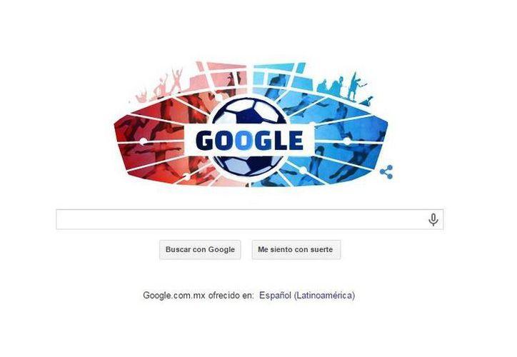 El doodle conmemorativo de Copa América solo se podrá visualizar en países de América y en algunas zonas de Asia. (Google.com)