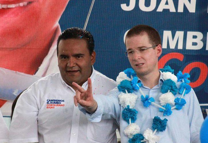Ricardo Anaya está recabando las firmas necesarias para registrar su candidatura a la dirigencia nacional panista. La imagen es de archivo. (Archivo/Notimex)