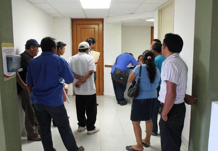 Los desalojados no cuentan con un patrimonio y tampoco un empleo fijo que les permita tener una vivienda de manera legal. (Paloma Wong/SIPSE)