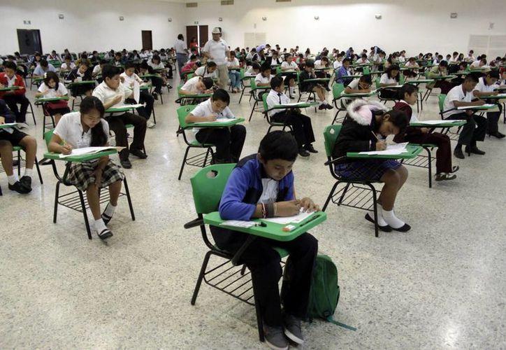 Sólo dos estudiantes llegarán a la fase nacional de la olimpiada. (Christian Ayala/SIPSE)