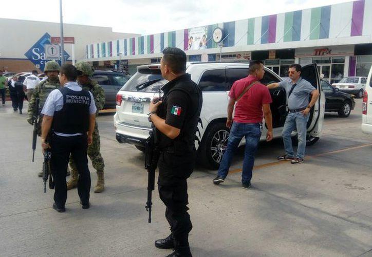 Desde que fue nombrado el encargado de despacho de la Policía Municipal, la violencia se ha recrudecido. (Eric Galindo/SIPSE)
