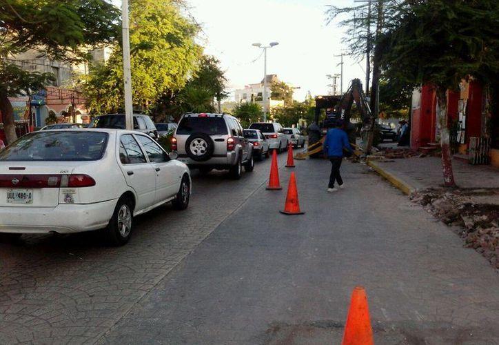 Una de las vialidades en donde se rehabilitará la red de agua potable es la avenida Yaxchilán. (Sergio Orozco/SIPSE)