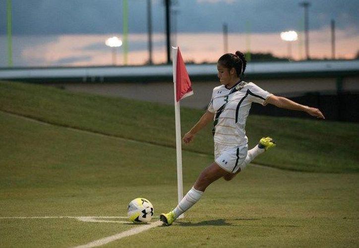 Cristina se encontraba jugando en la Universidad del Sur de Florida, cuando decidió partir para seguir creciendo en el mundo del fútbol. (Foto: Internet).