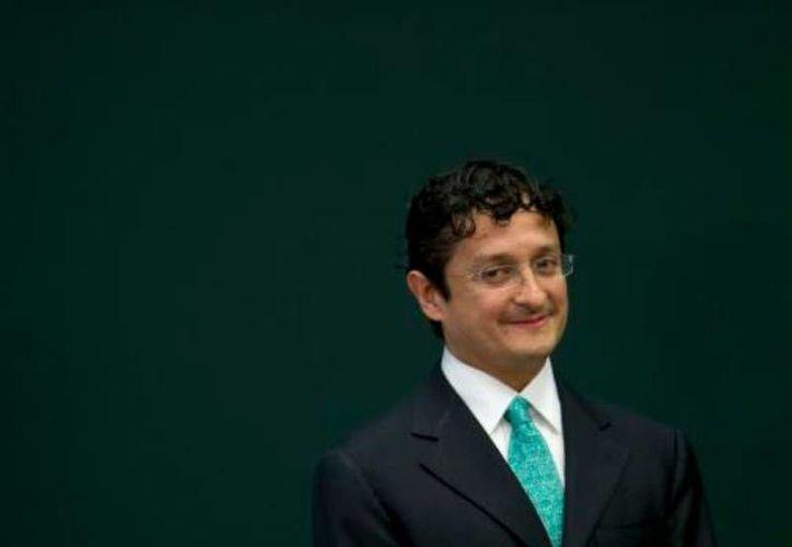 Virgilio Andrade, nuevo director general de Banco del Ahorro Nacional y Servicios Financieros. (Archivo/Agencias)