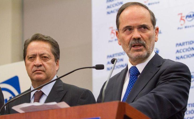 Gustavo Madero indicó que los grandes pendientes del gobierno son el combate a la corrupción y la desigualdad. (Archivo/Notimex)