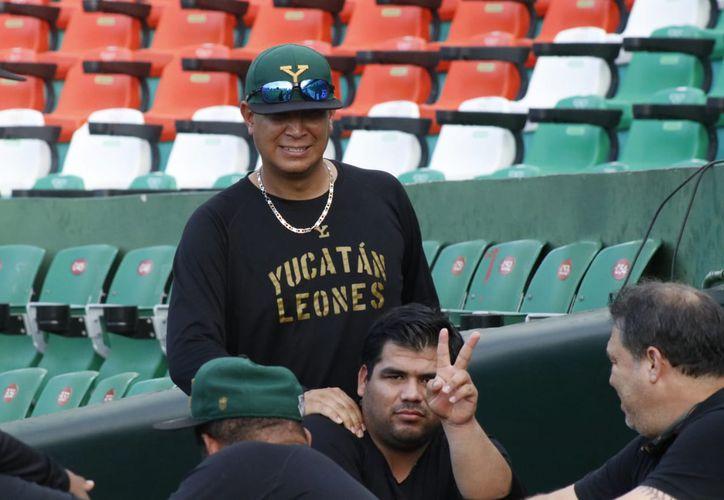 Luis Carlos Rimera señala que ya ha realizado varios ajustes al equipo.(Foto:   José Acosta/Novedades Yucatán)