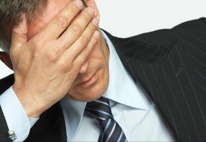 Los profesionistas se ven afectados por las responsabilidades de su cargo. (Foto de Contexto/Internet)