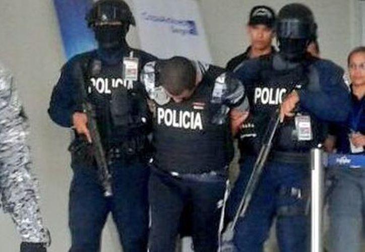 """Germán Eliecer Chanis Aguilar alias """"El Fakir"""", es presunto jefe de un grupo delictivo de narcotráfico. (Foto: Telemetro)"""
