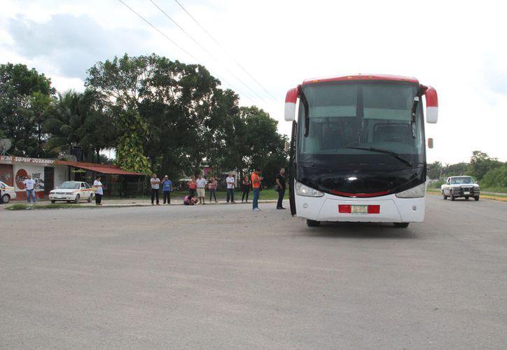 Buscan brindar más opciones de transporte a colonias. (Carlos Castillo/SIPSE)