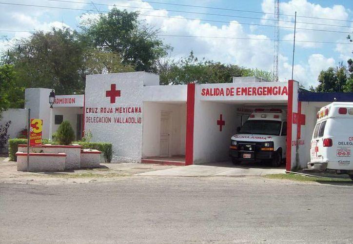 Fachada de la Cruz Roja delegación Valladolid, en donde un paramédicos vio a una enfermera fantasma. (Jorge Moreno/SIPSE)