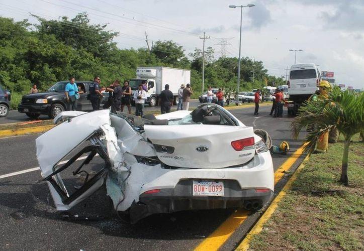 Urge reforzar la educación vial para frenar el número de muertes ocasionadas por accidentes viales. (Archivo/SIPSE)