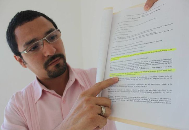 Juan Pérez Alpuche dice que no recibieron ninguna queja. (María Mauricio/SIPSE)