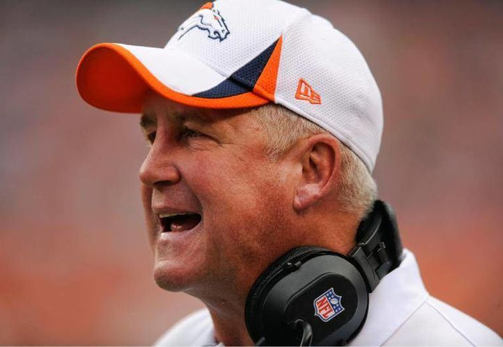 John Fox se va de Broncos de Denver. Antes dirigió a Panthers de Carolina, en la NFL. (gazettenet.com/Foto de archivo)