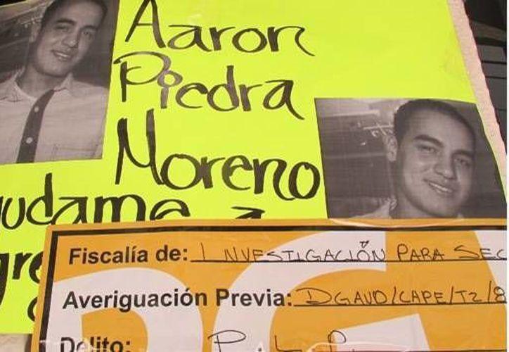 Menchaca Bazán era amigo de los hermanos Aarón  y Josué Piedras Moreno. (CNN)