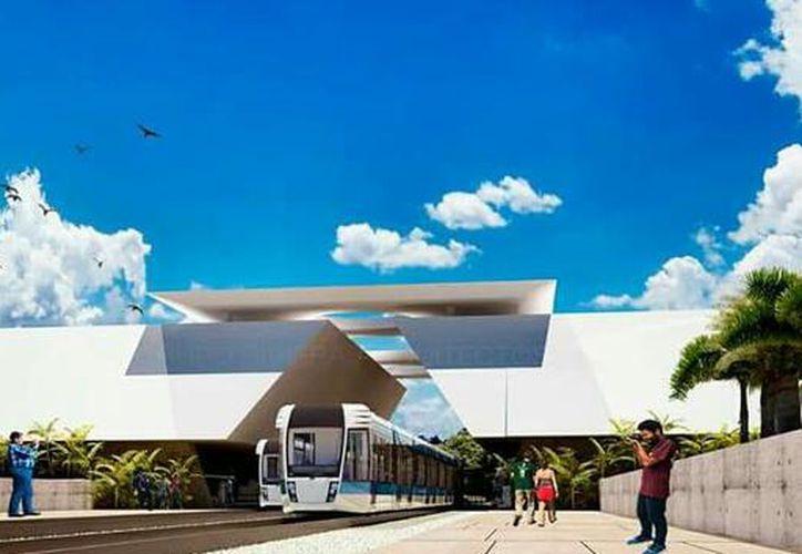 (Imagen de uno de los proyectos realizados sobre esta megaobra)