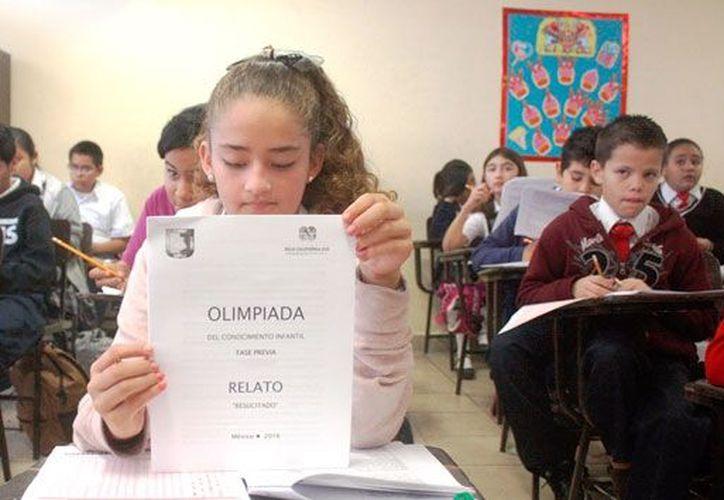 En la Olimpiada del Conocimiento Infantil, participaron 50 estudiantes de primarias urbanas. (Foto: Contexto/Internet)