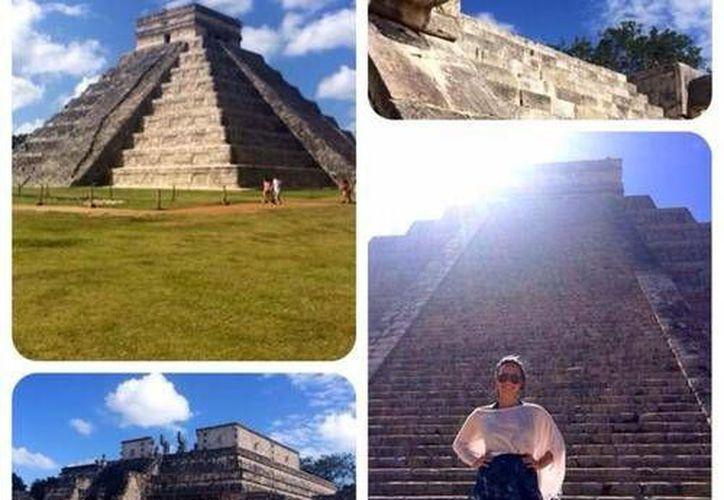 Las imágenes que compartió en Twitter Demetria Lovato (@ddlovato).