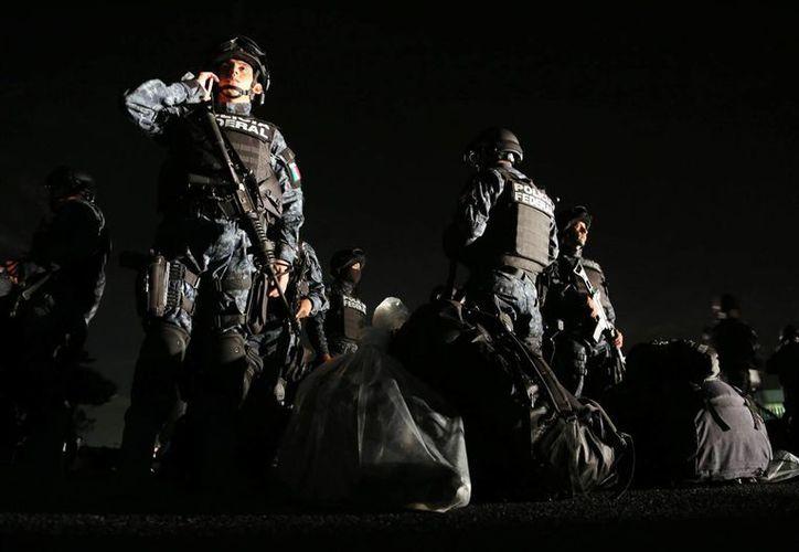 En agosto inició operaciones la Gendarmería Nacional, una de las promesas de Peña Nieto sobre seguridad pública. (Archivo/Notimex)