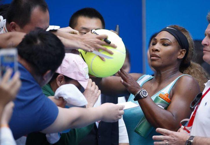 Serena Williams es la mejor tenista del mundo, según la WTA, seguida de Simona Halep y Petra Kvitova. (Foto: AP)