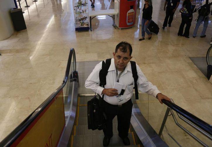 Sixto López Casa Madrid, enviado especial de Novedades de Quintana Roo. (Israel Leal/SIPSE)