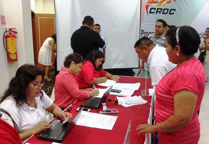 La Confederación Revolucionaria de Obreros y Campesinos cuenta con 24 mil sindicalizados. (Daniel Pacheco/SIPSE)