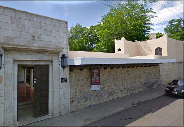 Fachada del Seminario Conciliar de Yucatán, ubicado en la colonia Itzimná. (arquidiocesisdeyucatan.com.mx)
