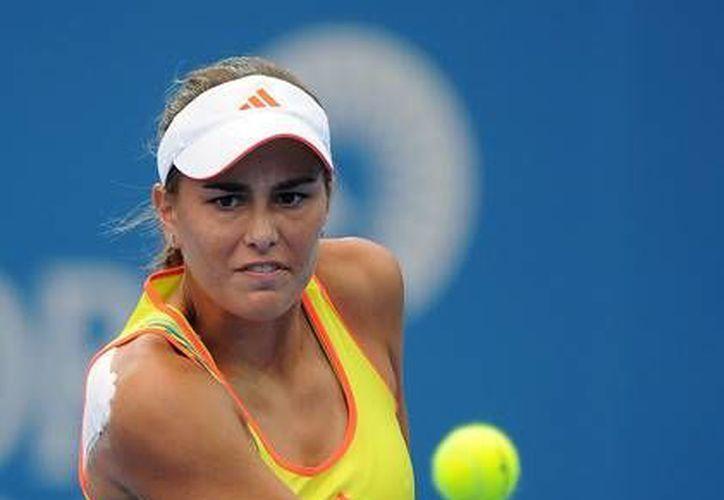 Mónica Puig es la latinomericana mejor posicionada según la WTA. Está entre las 51 mejores tenistas de mundo. (zimbio.com)