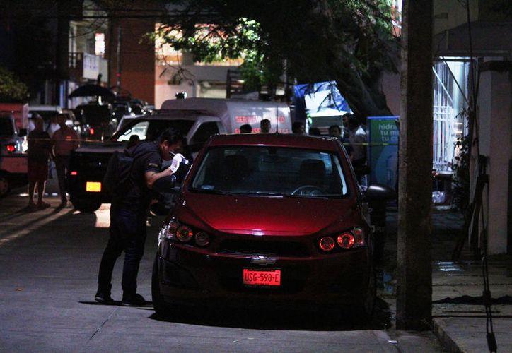 José Enrique González Rosas fue baleado fuera de la dependencia de Fiscalización y Cobranza de Solidaridad la noche del viernes. (Foto: Redacción/SIPSE).