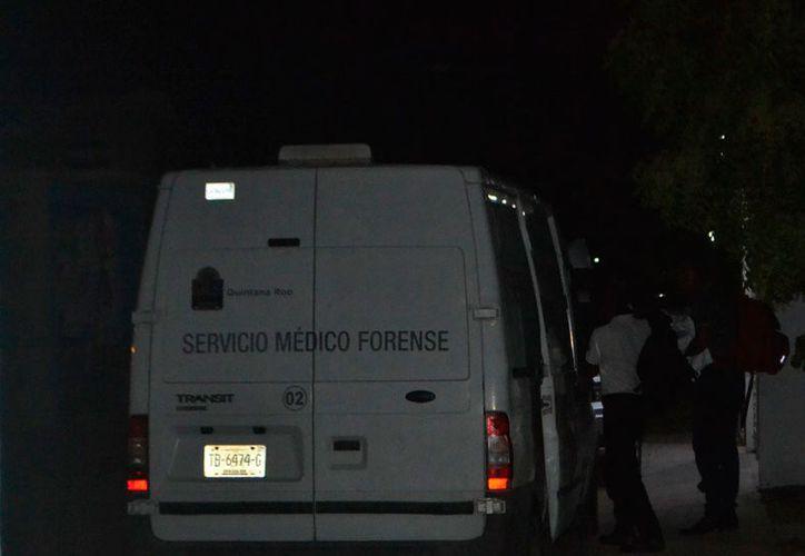 Los cuerpos fueron levantados por el Servicio Médico Forense. (Redacción/SIPSE)