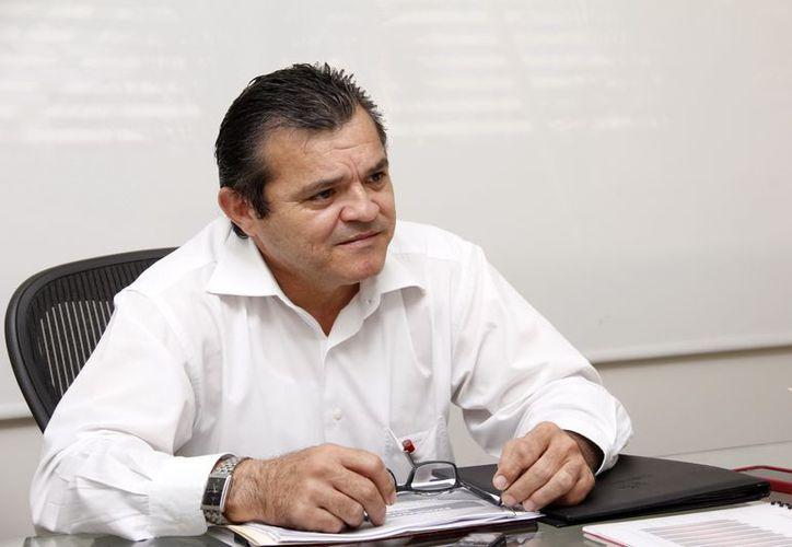 Édgar Conde Valdez, nuevo titular de la CMIC. (Juan Albornoz/SIPSE)