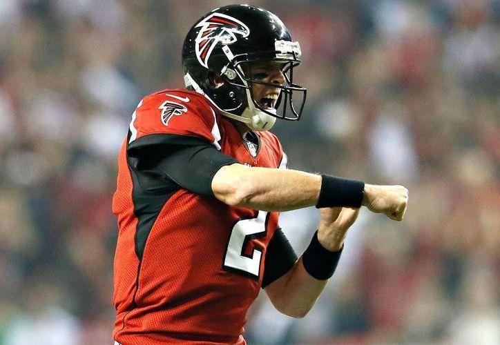 El quarterback  Matt Ryan podría hacer la diferencia este jueves a favor de Halcones de Atlanta ante Drew Brees y los Santos de Nueva Orleans. (espncdn.com)