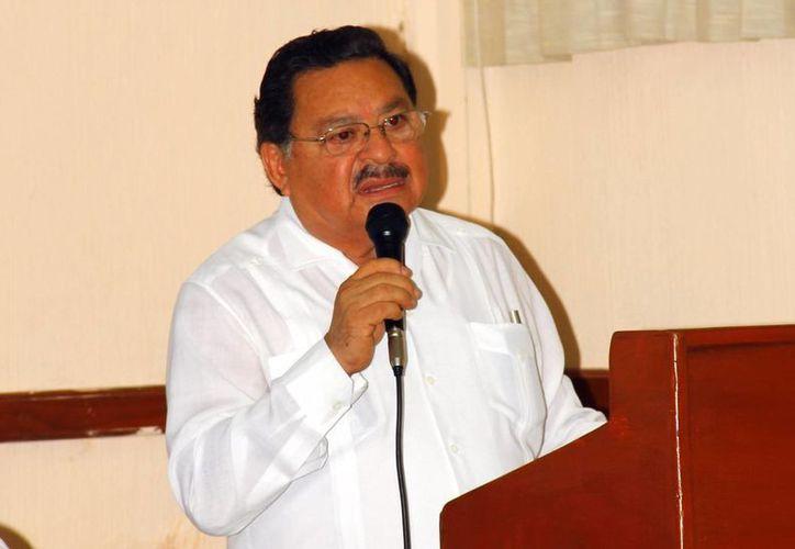 Wilberth Chi Góngora, delegado de la SEP en Yucatán. (Milenio Novedades)