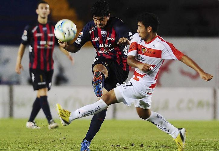 Los Jaguares de Chiapas se quedaron a escasos minutos  de festejar lo que hubiera sido su primera victoria de la temporada. (Jam Media/SIPSE)