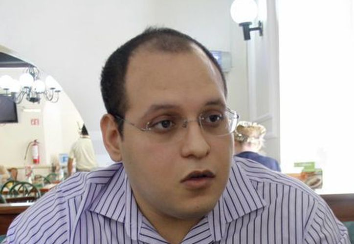 Alejandor Cauich Viñas. (Christan Ayala/SIPSE)