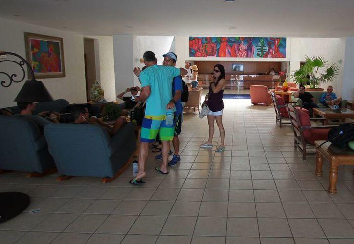 El Ironman se ha convertido en un generador de derrama económica para el sector turístico de la Isla de las Golondrinas. (Gustavo Villegas/SIPSE)