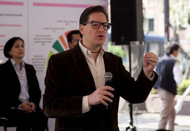 Salomón Chertorivski, titular de la Sedeco en la Ciudad de México. (Cuartoscuro)