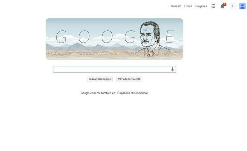 Google rinde homenaje a Carlos Fuentes, impulsor del Boom latinoamericano literario. (Google)