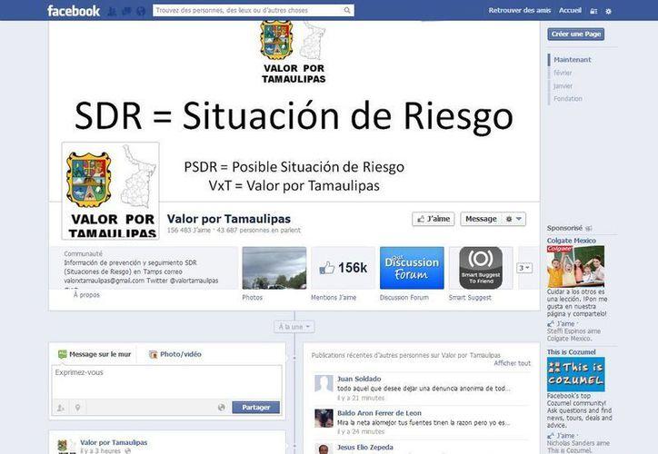 Publican información de varios municipios tamaulipecos. (Facebook)