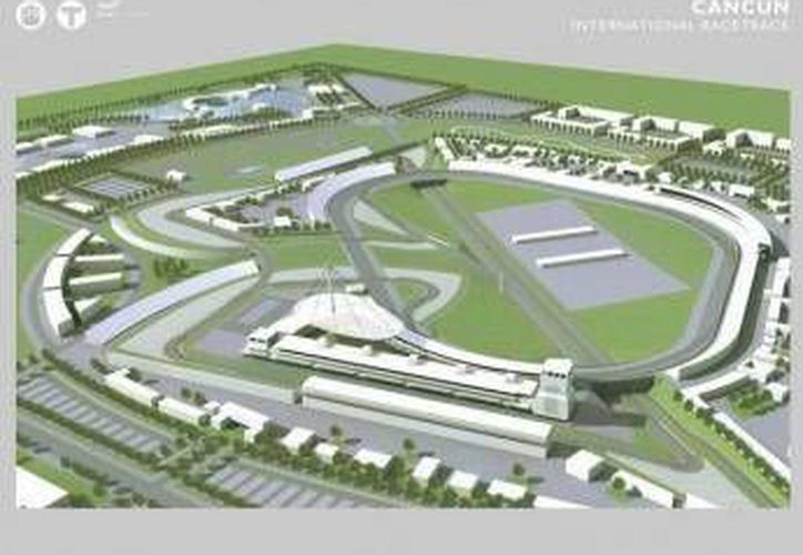 En 2005, esperaban traer la Formula 1 a tierra cancunenses con la construcción de una pista en forma de mantarraya, proyecto que quedó como un sueño. (Archivo/SIPSE)
