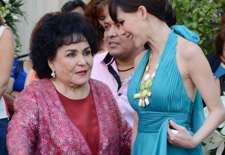 Carmen Salinas asegura que, en 11 años de sociedad, las hermanas Vallejo nunca le entregaron ganancias. (Archivo Notimex)